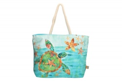 "PE-Florence Shopper ""Turtle Sea"""