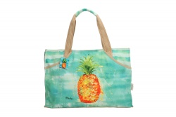 "PE-Florence Rectangular Shopper ""Pineapple"""