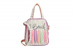 "PE-Florence Hand- / Schultertasche ""Meet me at the Beach"""