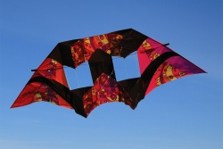 10.5Ft Double BoxKite Warm Orbit