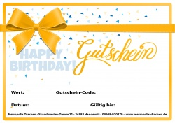 E-Mail voucher card birthday 10 Euro