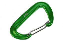 Snap hook 47x80mm 12kn green