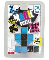 Clown Magic Puzzle 3D 24 pieces blue