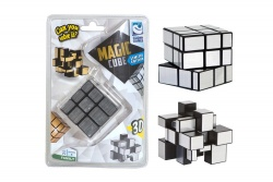 Clown Magic Cube 3D silber