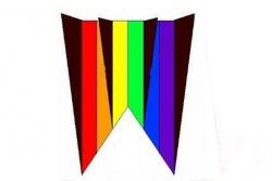 Parafoil 12 black-rainbow