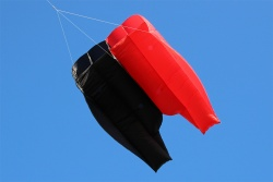 Parafoil 5.5 schwarz-rot