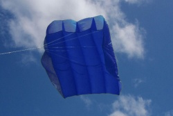 Peter Lynn Pilot Kite 4.5m² royal blue