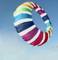 Ring Kite 2,7m rainbow-weiss