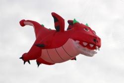 Flying Dragon 3.5m red