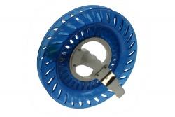 Wickelspule Kunststoff 20cm blau