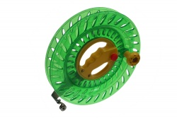 winding reel 24cm green