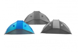 Beach shelter 270cm light blue-dark blue