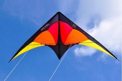 Milano schwarz/gelb/rot/orange