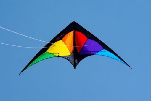 Milano rainbow/schwarz