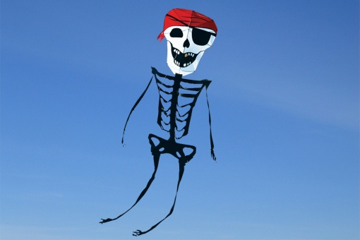 Skeleton Kite 31ft. Pirate