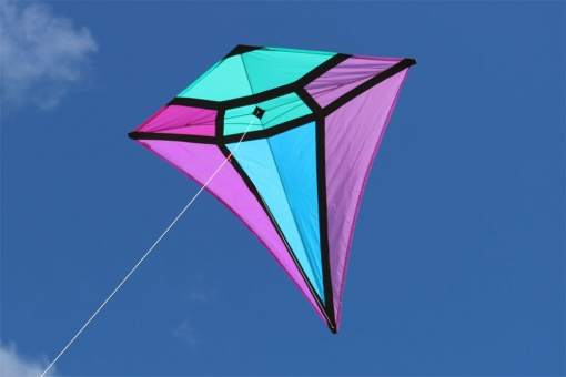 65 in. Diamond Kite Amethyst