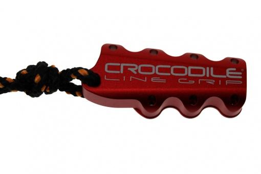 Crocodile line grip red