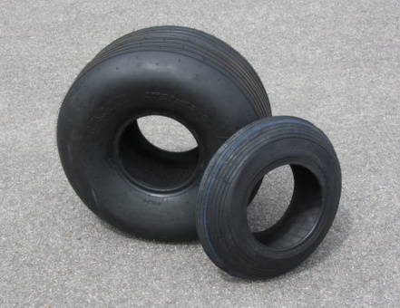 Tire BigFoot 21/12.00-8 with 7 grooves
