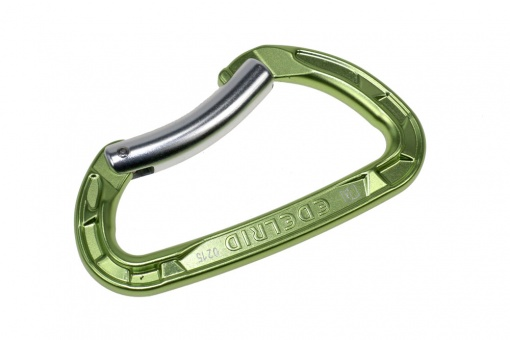 Climbing snap hook  Edelrid bent