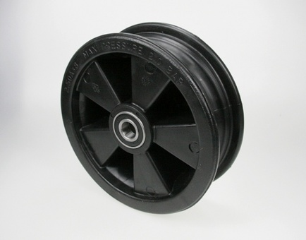 Plastic rim 2.50x8 12mm axle (20mm bearing with reducers)