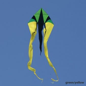 F-Tail XXL grün/gelb