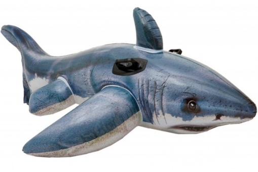 Intex white shark inflatable 173cm