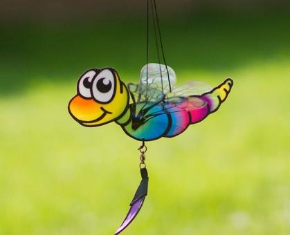 Dragonfly Twist rainbow