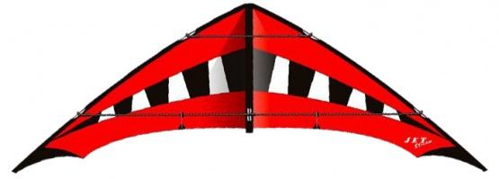 Jet Stream Reloaded schwarz/weiß/rot