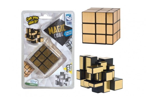 Clown Magic Cube 3D gold