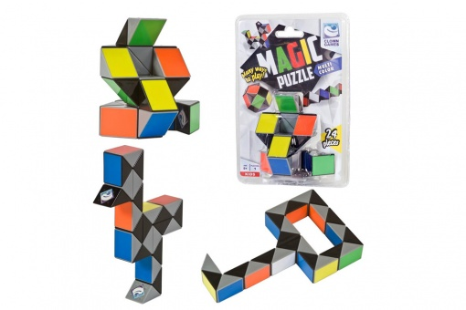 Clown Magic Puzzle 3D multicolor 24 pieces