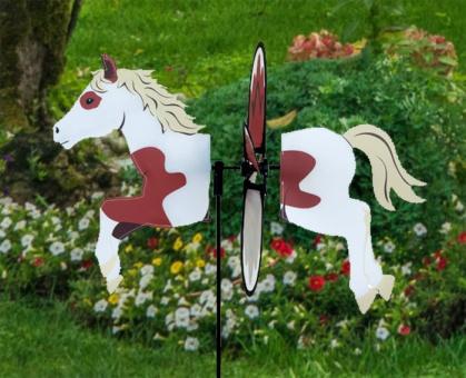 Petite Windrad Pinto Horse