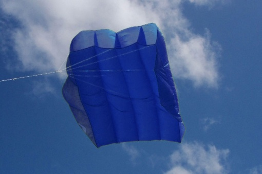 Peter Lynn Pilot Kite 4.5m² royal blue