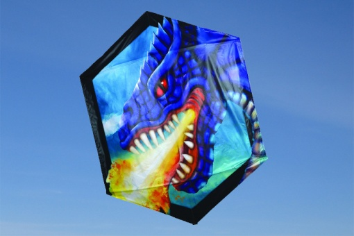 Rokkaku Kite Fierce Dragon