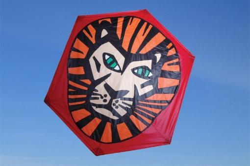 Rokkaku Kite Lion
