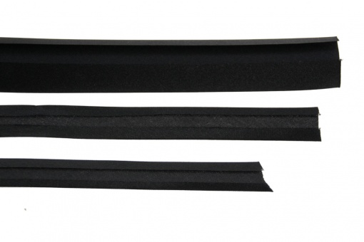 Bias binding 20mm, black