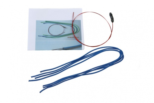 Splice set, with sleeving wire and manual
