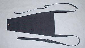 Splash guard nylon black for standard wheel