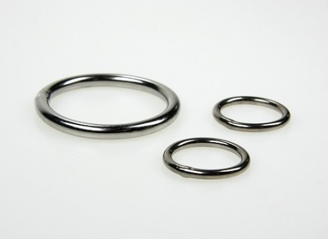 Stainless steel ring 7,8mm