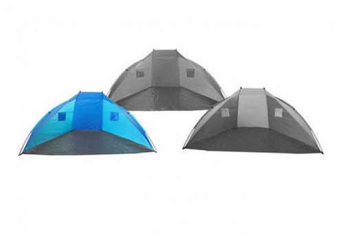 Beach shelter 270cm light blue-dark blue