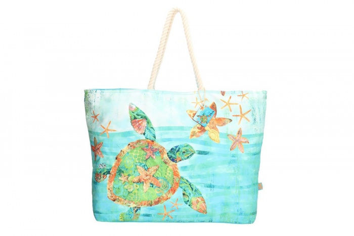 "PE-Florence XL Shopper ""Turtle Sea"""
