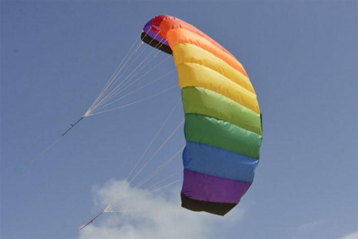 Amigo 1.35 rainbow, with hand straps