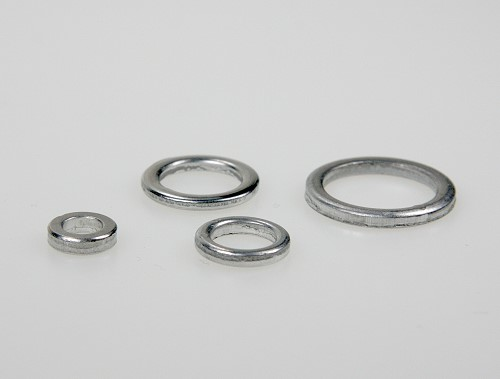 Aluminium rings 11mm