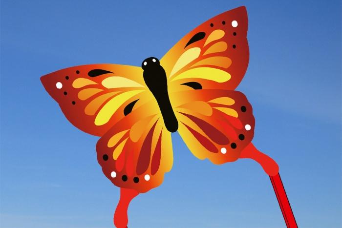 Ecoline Butterfly Kite Sunrise