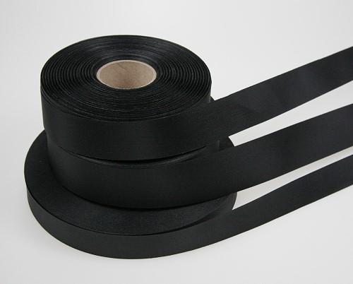 Dacron schwarz 6 cm, lfm.