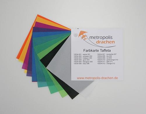 "Farbmusterkarte ""Taffeta Nylon"""