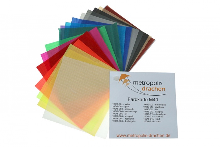 "Colour sample card ""M40"""