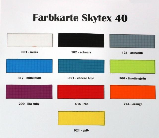 """Spinnaker """"Skytex 40"""" weiss - 001"""