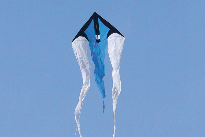 F-Tail beam blau