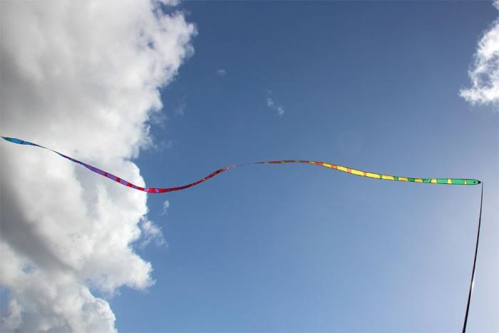 Gradient tail rainbow