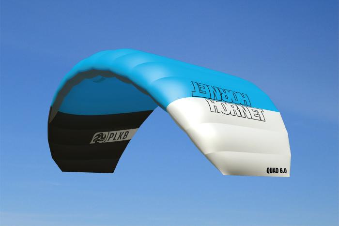 Hornet 6.0 m² – RTF Handles